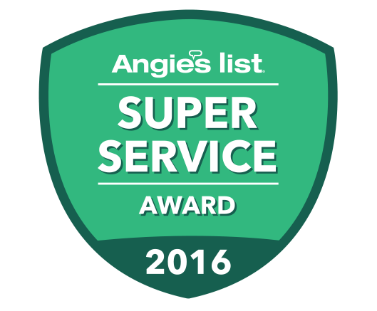 Angie's list best plumbing company award