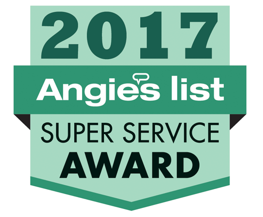 Angie's List super service award winner logo